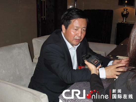 张新_十八大代表,特变电工董事长张新 摄影:陈雨
