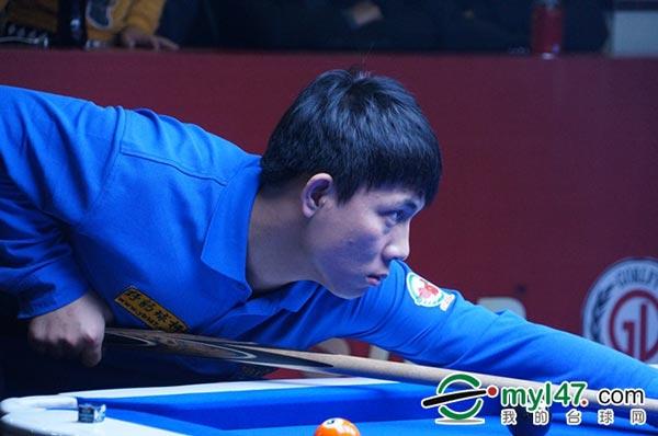 中式台球排名赛杭州站 郑宇伯进入半决赛图片
