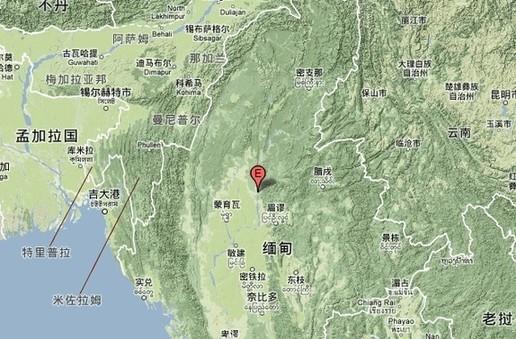 缅甸今晨发生7.0级地震 德宏芒市等地震感明显图片