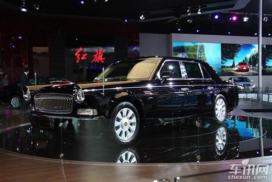 红旗旗舰车L9亮相新车目录 有望小批量产