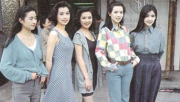 徐锦江和李丽珍古装片-蓝洁瑛 TVB美人旧照时髦