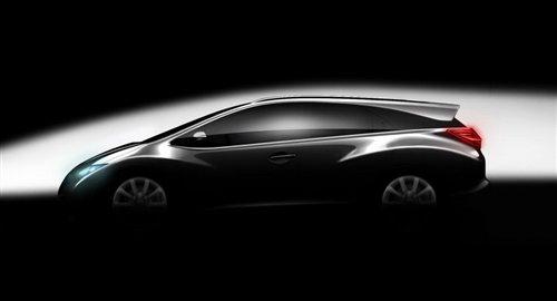 明年9月发布 本田思域旅行版假想图曝光 汽车之家