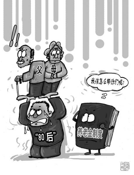 漫画:刘大力