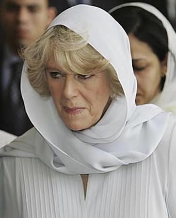 卡米拉 英国王储查尔斯王子的现任妻子是与他第一任妻子戴安娜王妃