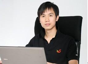 115董事长兼CEO赖霖枫 (TechWeb配图)