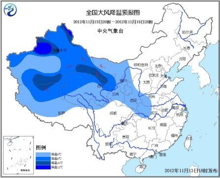新疆,甘肃西部,东北地区大部和山东半岛等地有4~6级风,山口地区风力