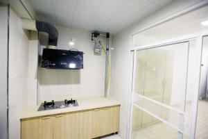 公租房内的装修已基本完毕 本组图片由本报记者 宫晓天 摄