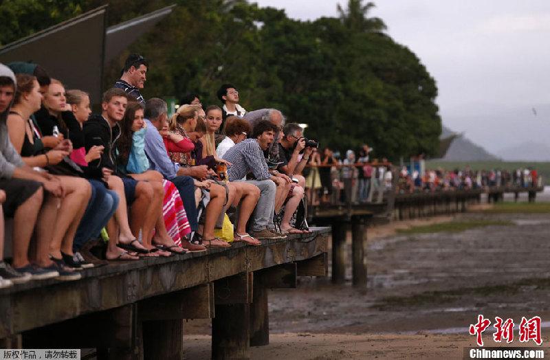当地时间11月14日,澳大利亚昆士兰东北部地区当天迎来1300年来首次日全食,来自世界各地的游客奔赴此地一睹难得天象。据悉,这次日全食在澳大利亚本土最长持续时间为2分5秒。