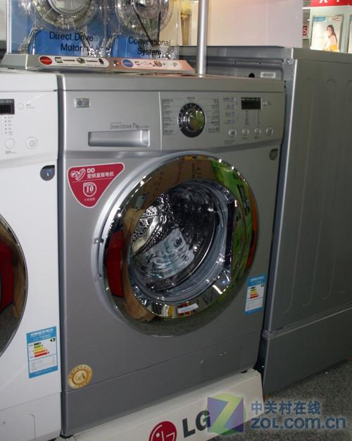 库存仅一台 LG滚筒洗衣机亚马逊3299元