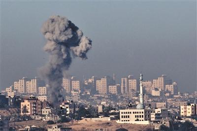 以色列空袭加沙地带_以色列空袭加沙地带 巴方还击(组图)-搜狐新闻