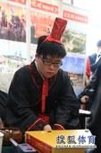 图文:名人战决赛永城打响 江维杰压力不小