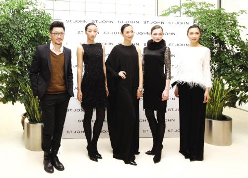 ST.JOHN展示秋冬服装流行趋势