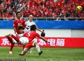 足协杯决赛图:恒大4-2人和 张琳芃进球瞬间