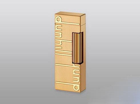 男人 打火机/Dunhill镀金logo Rollagas打火机