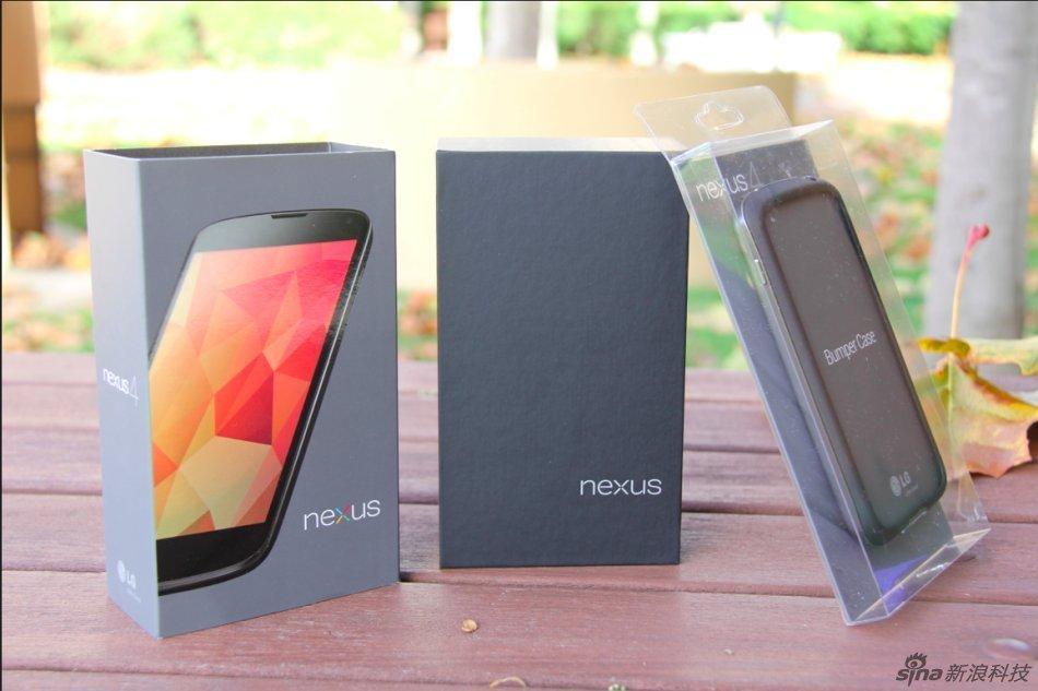 2手机谷歌nexus 4开箱图赏