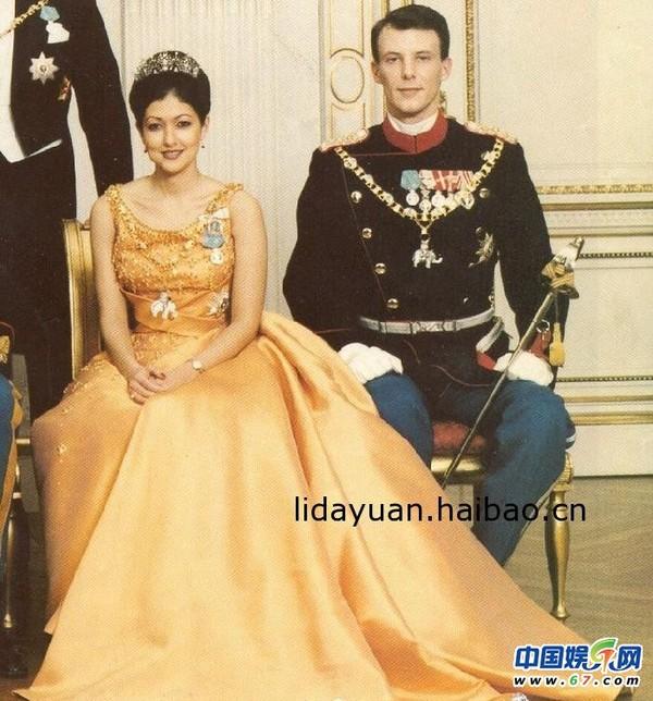 丹麦王妃文雅丽复婚_有中国血统的丹麦王妃文雅丽