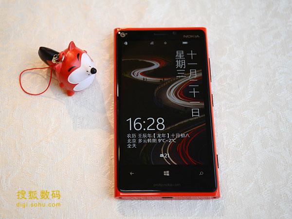 诺基亚行货移动定制版Lumia 920T