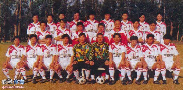 刘孝五微博揭穗足球史 太阳神乃中国首支职业俱乐部