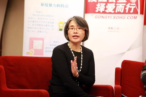 民间组织反对家庭暴力网络负责人 冯媛