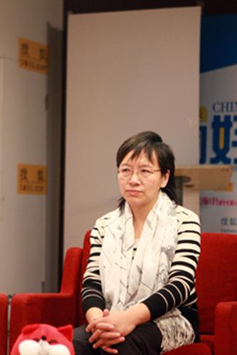 北京红枫妇女心理咨询服务中心副主任 吴群芳