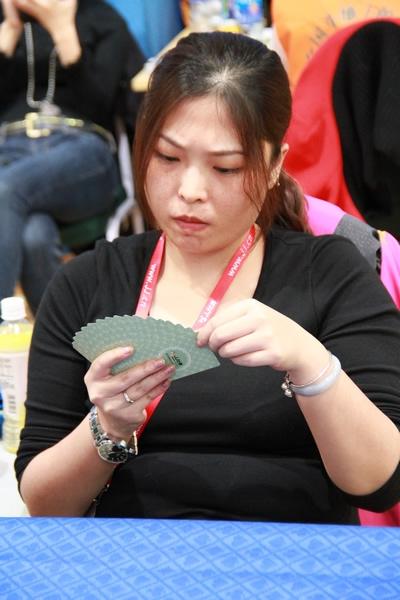 图3:美女宝宝打牌中