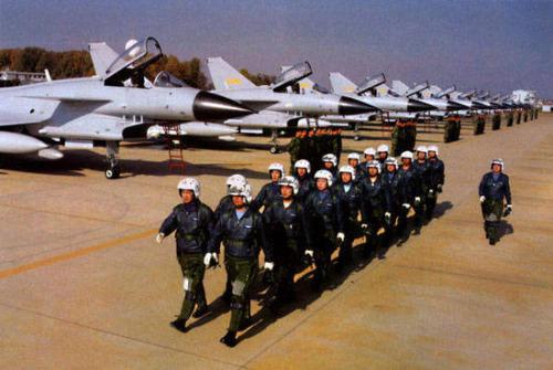 中国空军飞行员高清图片