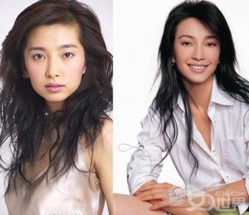 刘亦菲 李小璐/金喜善难忍女儿被批丑明星整容前后对比照