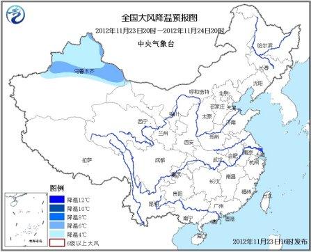 新一轮冷空气影响中国 青藏高原东部有中到大雪