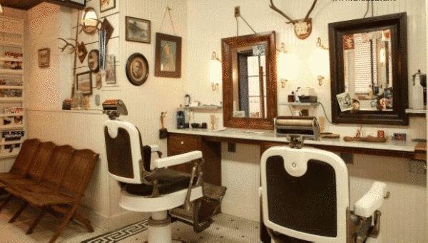 北京美发店装修,北京美容院装修图片