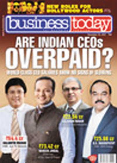 印度 今日商业 杂志11月25日刊封面