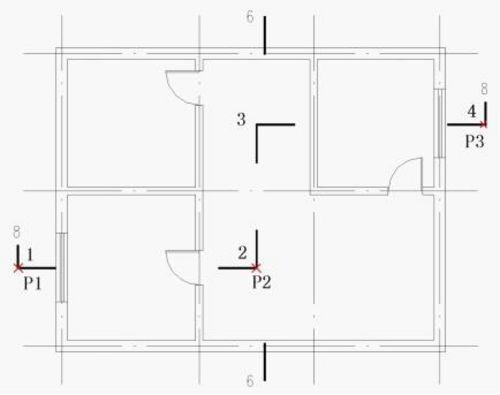 中望CAD建筑版符号之天花工程标注下cad室内平面图教程图片