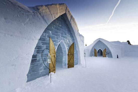 1.住进冰雪世界