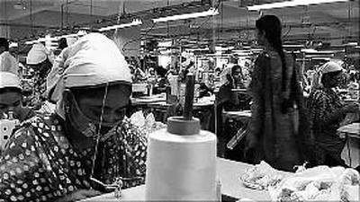 孟加拉国 服装/孟加拉国的纺织工厂 (资料图片)