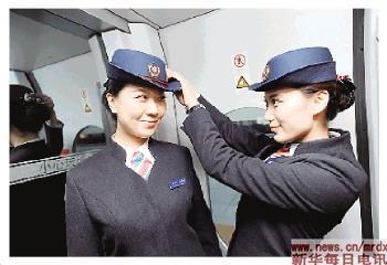 沈阳铁路局为迎接哈大高速铁路的开通运营做准
