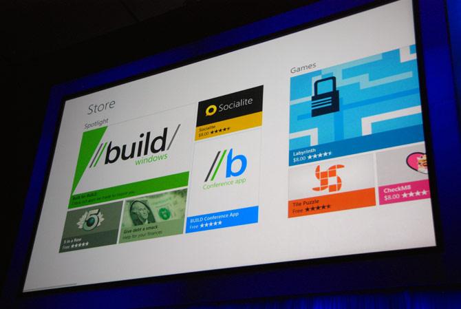 根据Distimo的数据,Windows Store程序下载量相当活跃
