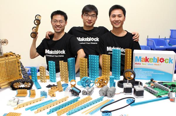 Makeblock王建军:我们要做开源硬件的乐高!