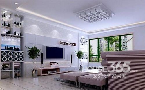 小客厅吊顶效果图 美轮美奂的头顶空间设计