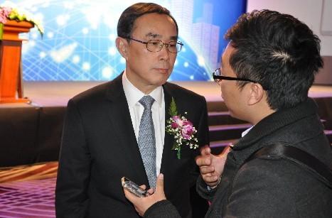 """中国联通常小兵本周接受搜狐IT专访时称:""""只要iPhone5入网许可证拿到,联通就将开始销售。"""