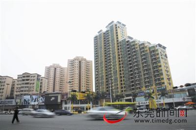 樟木头街景 东莞时报资料图