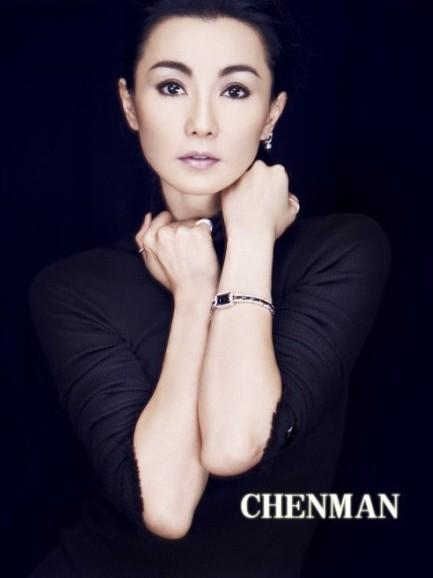 张曼玉进军乐团朋克造型 突破玉女优雅气质 时尚
