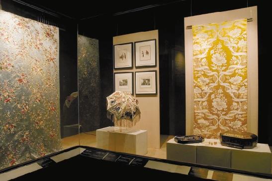 布料欧式展厅设计图片