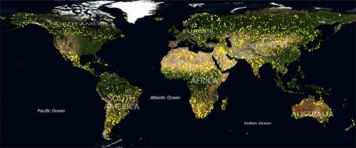 bing地图再迎121tb的卫星航拍图像