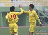 老甲A图片:点球战四川6-7陕西 黎兵庆祝