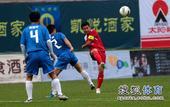 老甲A图片:上海4-3广州夺冠 彭伟国主罚任意球