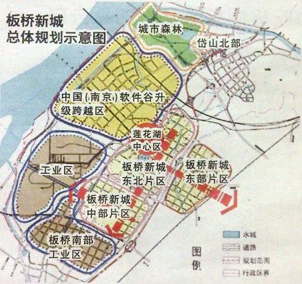 南京大学金陵学院手绘地图