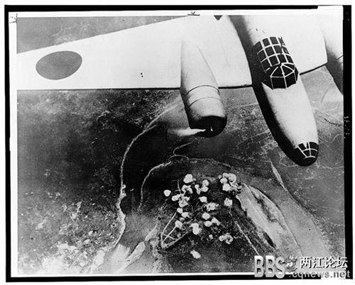 日机轰炸重庆朝天门