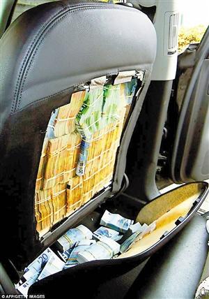 法国华人车内藏180万欧元被捕