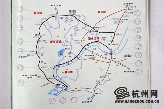 杭州市养犬区域划分图图片