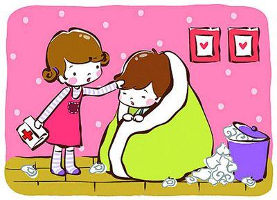头疼感冒的卡通图片_重感冒 卡通_感冒好了图片卡通 ...