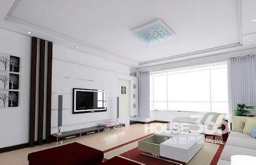 石膏板 吊顶效果 图:白色 客厅吊顶 设计-客厅石膏吊顶效果图